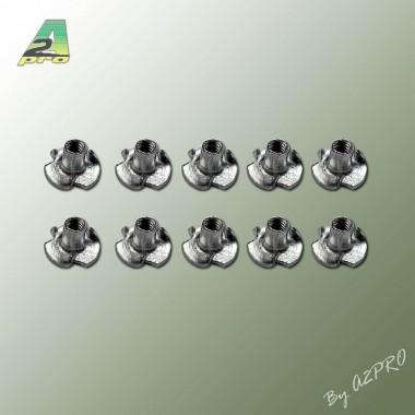 Ecrou à griffe M2 (x10)