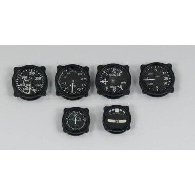 Instruments ancien échelle 1:4 noir