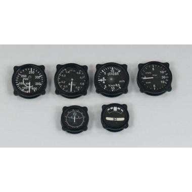 Instruments ancien échelle 1:3 noir