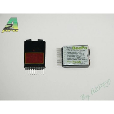 Alarme batterie Lipo 2-8s Protronik