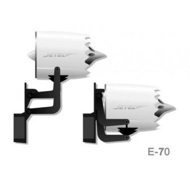 Turbine JETEC E70 MIG FLIGHT
