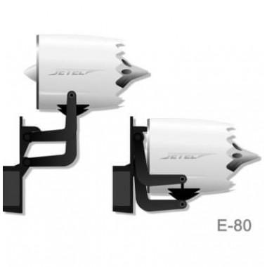 Turbine JETEC E80 MIG FLIGHT