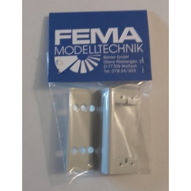 Support servo horizontal train FEMA