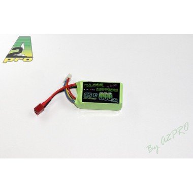 Batterie Lipo 3S 800mAh 35C