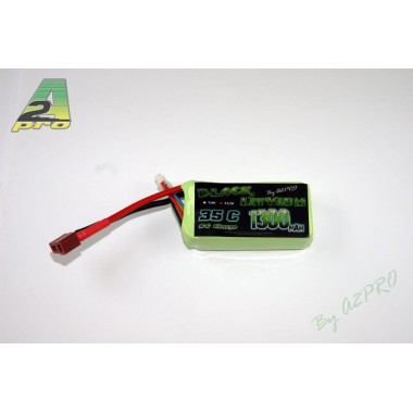 Batterie Lipo 3S 1300mAh 45C