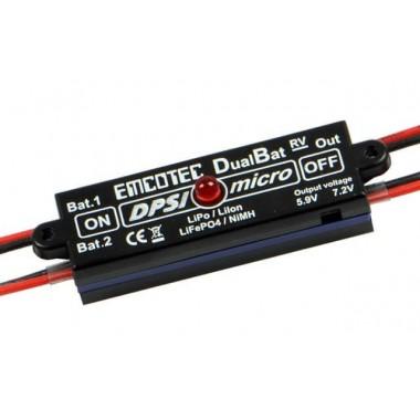 DPSI Micro Dualbat 5,9V / 7,2V