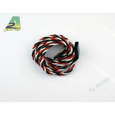 Rallonge servo 100cm câble 0,50mm²