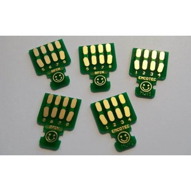Platine à souder EMCOTEC 8 pins