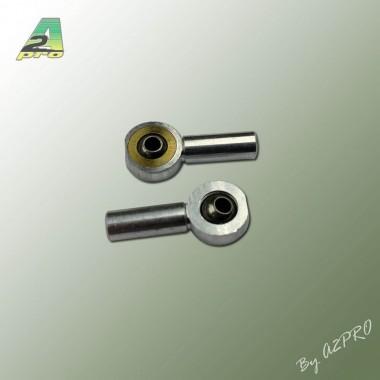 Chape rotule alu M2 (x2)