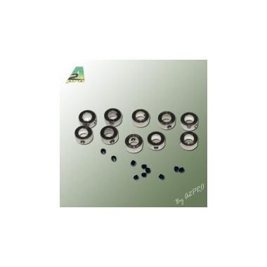 Bague arrêt de roue 6mm (x10)