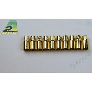 Connecteurs PK femelle 6mm  (x10)