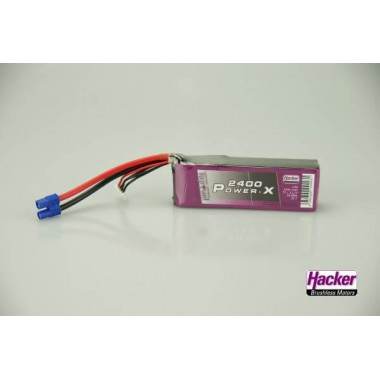 Batterie lipo 3S 2400mAh TopFuel Power-X
