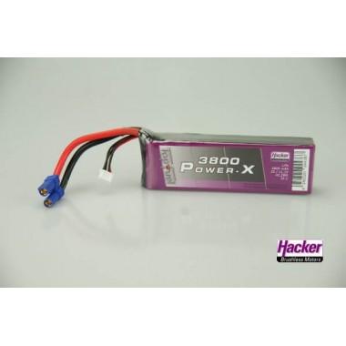 Batterie lipo 3S 3800mAh TopFuel Power-X