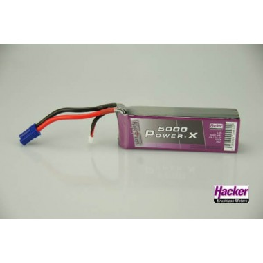 Batterie lipo 4S 5000mAh TopFuel Power-X