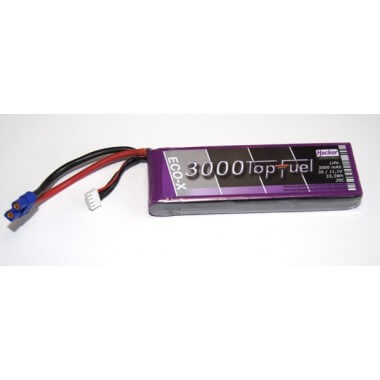 Batterie lipo 3S 3000mAh TopFuel ECO-X