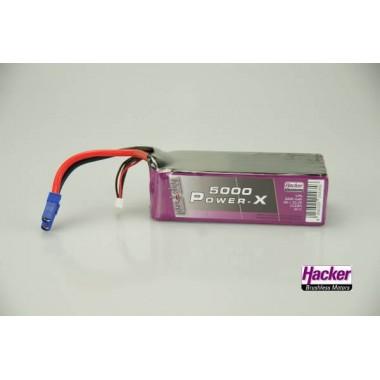 Batterie lipo 6S 5000mAh TopFuel Power-X