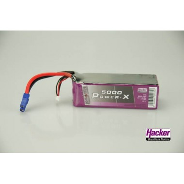 Batterie lipo 6S 5000mAh TopFuel Power-X