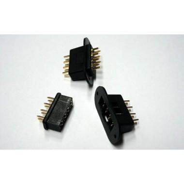 Connecteur 8 broches avec support (x2)