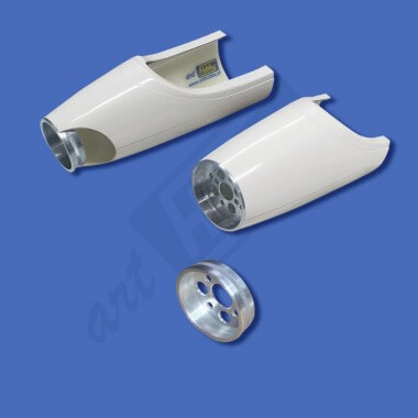 Support moteur aluminium Ø 31mm