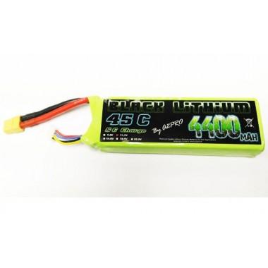Batterie Lipo 3S 4400mAh 45C