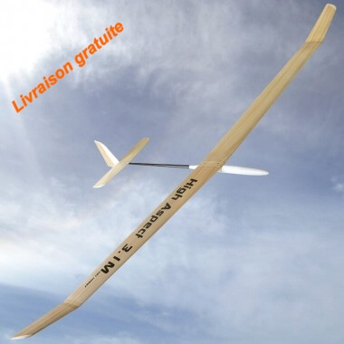 Planeur HIGH ASPECT 3.1M ART HOBBY