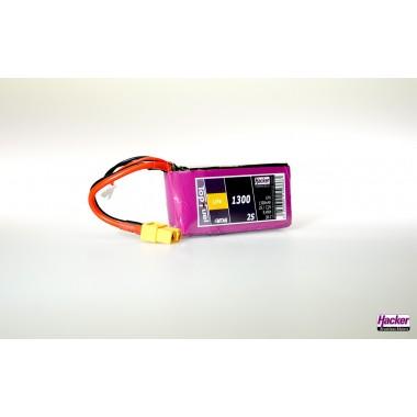 Batterie LiFe EC 2S 1300mAh 30C