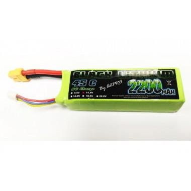 Batterie Lipo 3S 2200mAh 45C