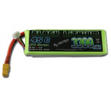 Batterie Lipo 3S 3300mAh 45C