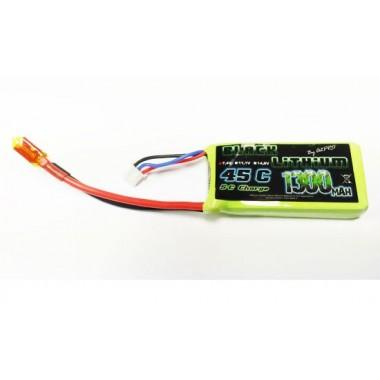 Batterie Lipo 2S 1300mAh 45C
