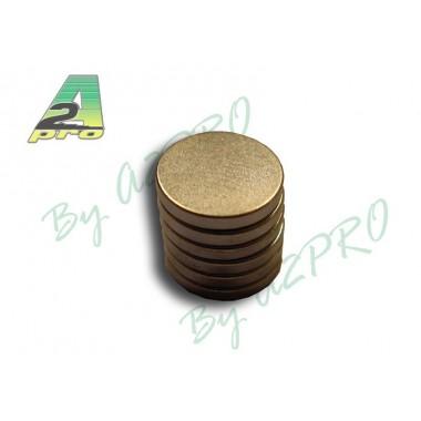 Aimant rond diamètre 10mm (x6)