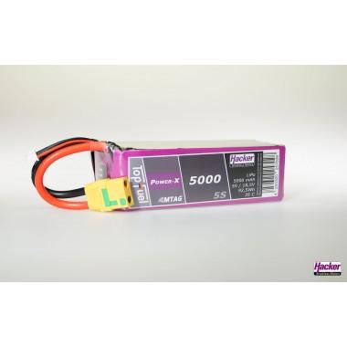 Batterie lipo 5S 5000mAh TopFuel Power-X