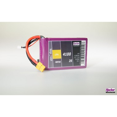 Batterie LiFe EC 2S 4100mAh 30C