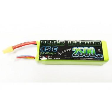 Batterie Lipo 3S 2500mAh 45C