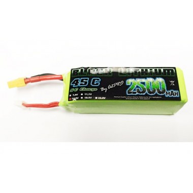 Batterie Lipo 4S 2500mAh 45C