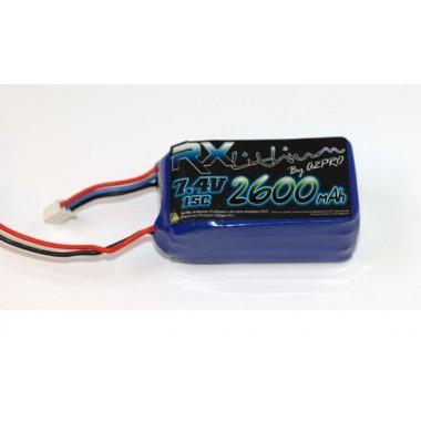 Batterie LiPo réception 2S 2600mAh