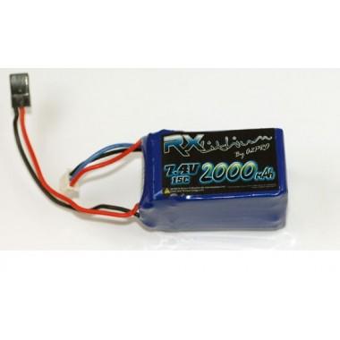 Batterie LiPo réception 2S 2000mAh