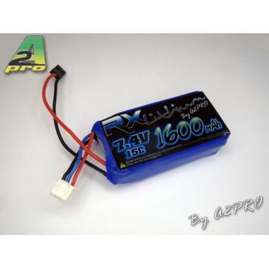 Batterie LiPo réception 2S 1600 mAh