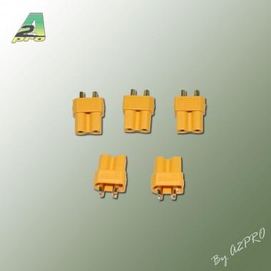 Prise XT30 mâle (x5)