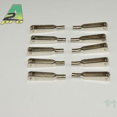 Chape acier M2 (x10)