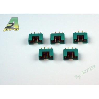 Connecteur MPX 6 pins femelle (x5)