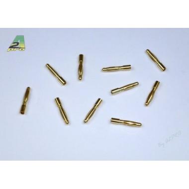 Connecteurs PK mâle 2mm  (x10)
