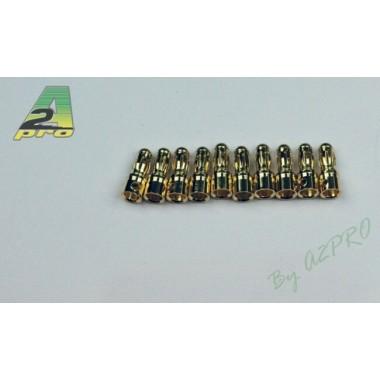 Connecteurs PK mâle 3.5mm  (x10)