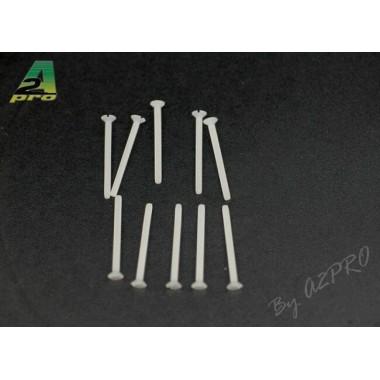 Vis nylon TF 2x25mm  (x10)