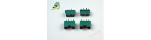 Prises MPX 6 pins