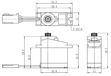SAVOX SH-0255 MG