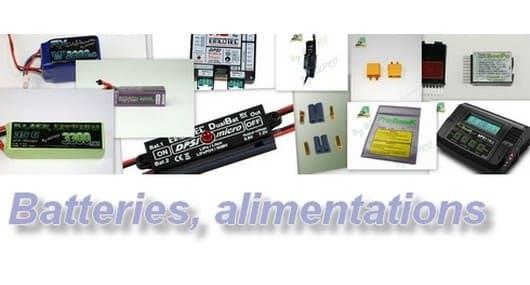 Batteries, alimentations